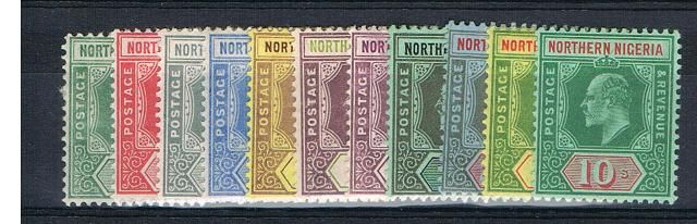 British Commonwealth Stamp Northern%20Nigeria%20SG%2028%2D39%20MM%2Ejpg