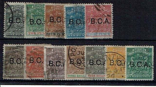 British Commonwealth Stamp Nyasaland SG 1-13 FU