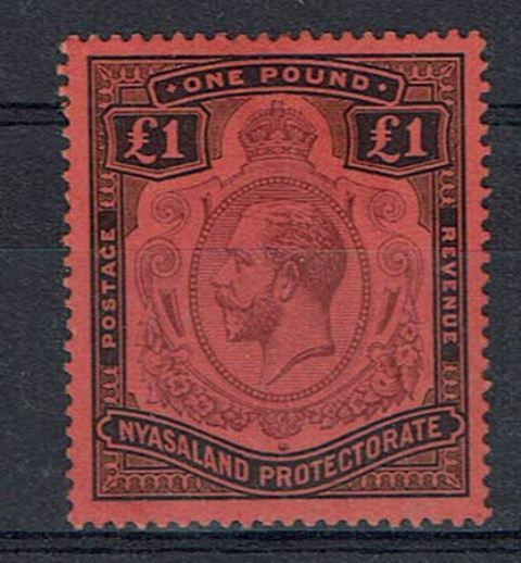 British Commonwealth Stamp Nyasaland SG 98i LMM29092017