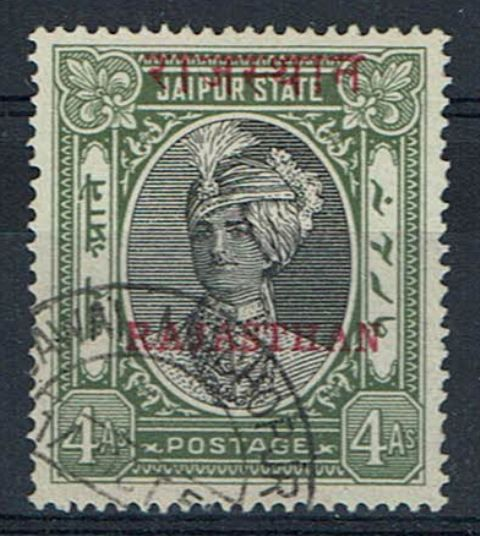British Commonwealth Stamp Rajastan%20SG%2022%20FU%2Ejpg