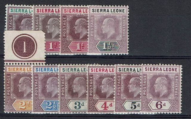 British Commonwealth Stamp S%20Leone%20SG%2086%2D94%20UMM%2Ejpg
