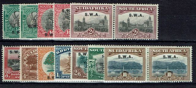 British Commonwealth Stamp SWA%20SG%2058%2D67%20LMM1%2Ejpg