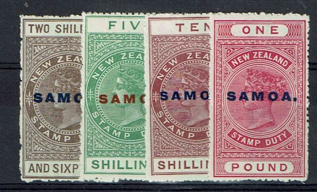British Commonwealth Stamp Samoa%20SG%20123%2D6%20LMM%2Ejpg