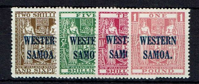 British Commonwealth Stamp Samoa%20SG%20189%2D92%20LMM%2Ejpg