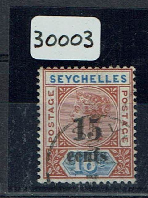 British Commonwealth Stamp Seychelles 19b FU