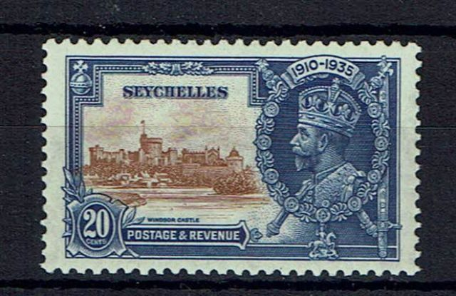 British Commonwealth Stamp Seychelles%20SG%20130e%20VLMM%2Ejpg