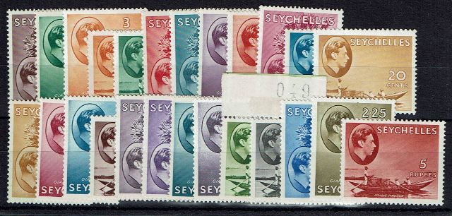 British Commonwealth Stamp Seychelles%20SG%20135%2D49%20UMM1%2Ejpg