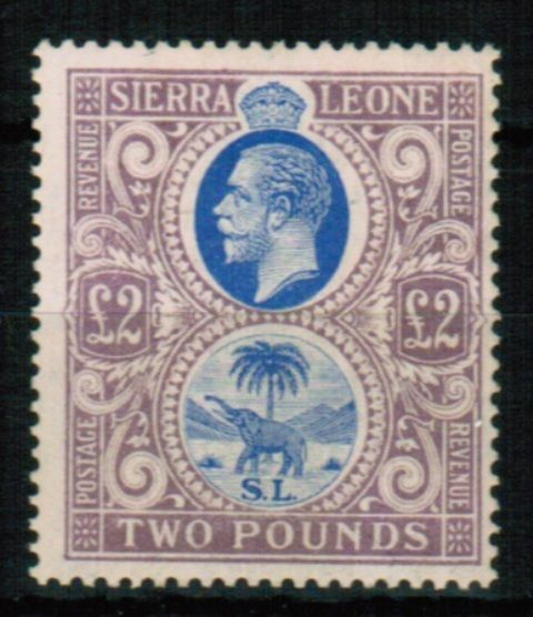 British Commonwealth Stamp Sierra Leone SG 129 VLMM