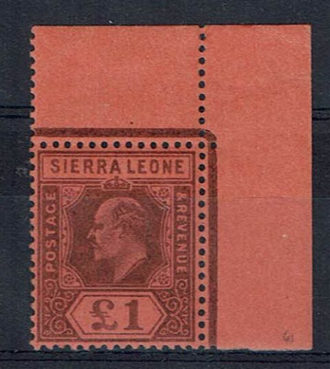 British Commonwealth Stamp Sierra Leone SG 85 UMM1