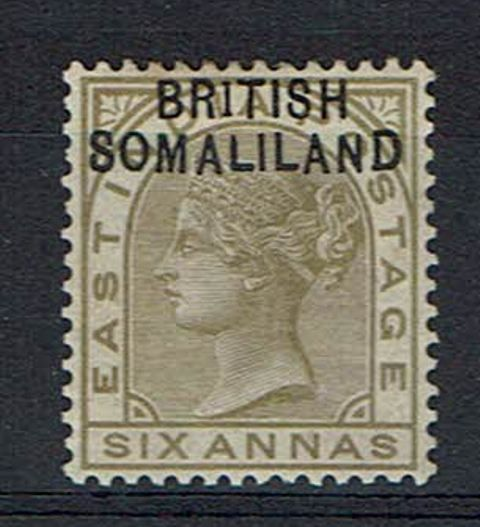 British Commonwealth Stamp Somaliland%20SG%207a%20LMM%2Ejpg