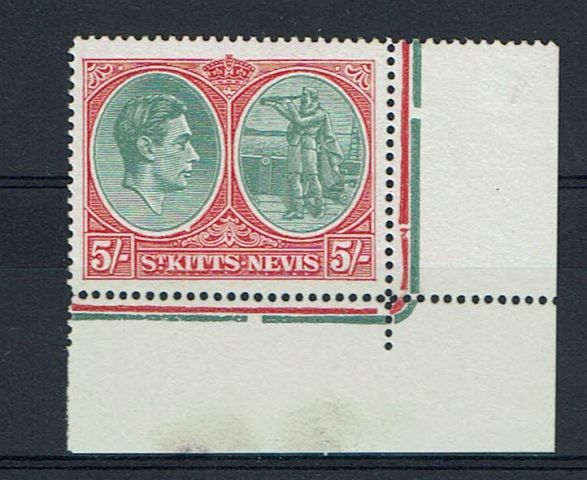 British Commonwealth Stamp St Kitts SG 77bc UMM