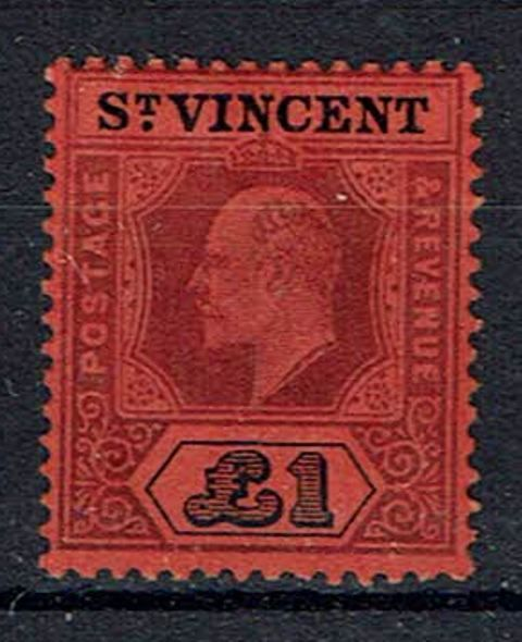 British Commonwealth Stamp St Vincent SG 93 VLMM