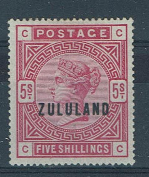 British Commonwealth Stamp Zululand SG 11 MM