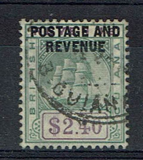 British Commonwealth Stamp british Guiana SG 251 FU1