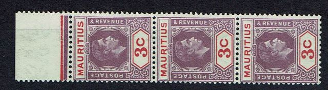 British Commonwealth Stamp maur SG 253c-253ca v 3